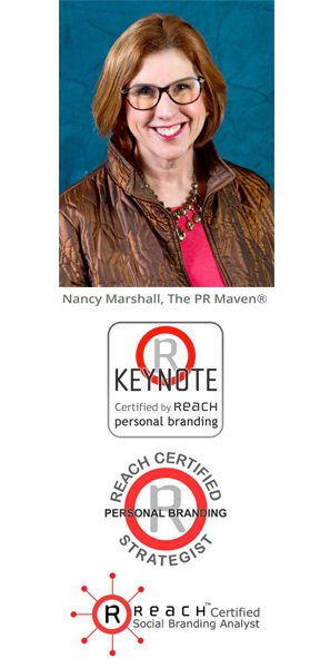 Nancy Marshall, The PR Maven®