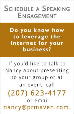Schedule a speaking engagement with The PR Maven