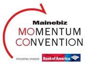 Mainebiz Momentum Convention logo