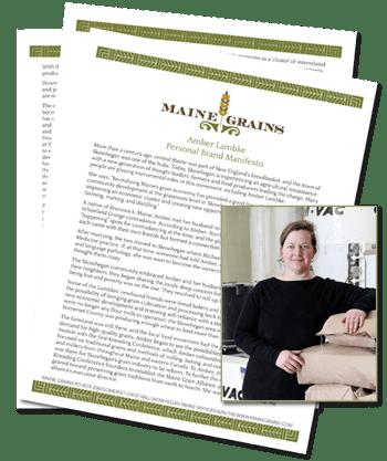 Amber Lambke Brand Manifesto