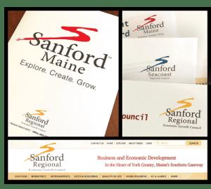 Sanford Maine municipal branding